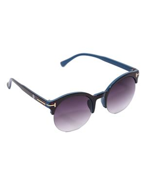 Eye Candy Me-7781-Ce503 Black Women Round Sunglasses