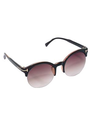 Eye Candy Me-7781-Ce505 Brown Women Round Sunglasses