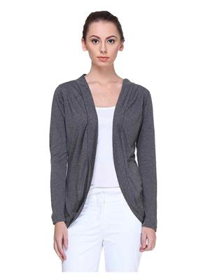 Meee 004606 Gray Women Shrug