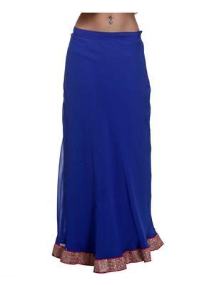 Meee 4684 Blue Women Skirt