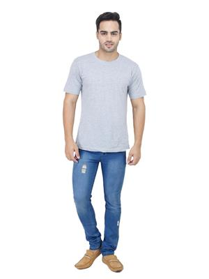 Ansh Fashion Wear DAMAGING-DB Multicolored Men Jeans
