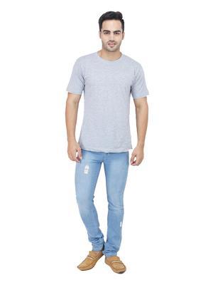 Ansh Fashion Wear DAMAGING-LB Multicolored Men Jeans