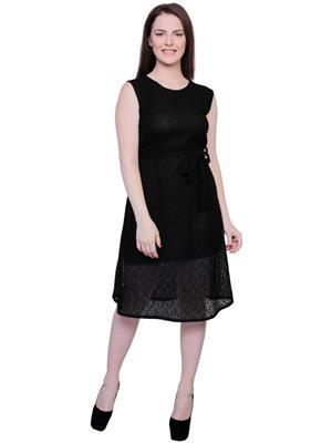 M Expose MEX95 Black Women Dress