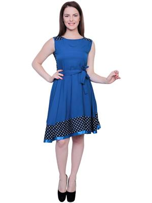 M Expose MEX96 Blue Women Dress