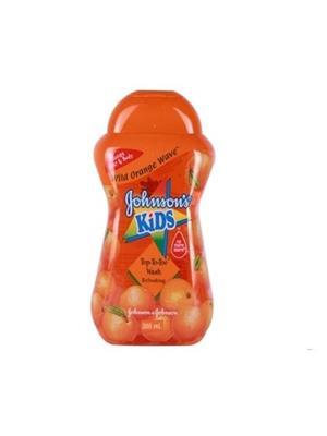 Johnsons Kid Wild Orange Wave Top-To-Toe Wash Refreshing-Malaysia (300 ml)