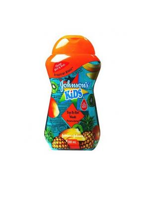 Johnson & Johnson Kid Tropical Blast Top-To-Toe Wash Moisturising (300 ml)