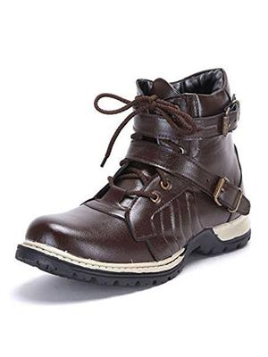 Molessi ML16B606S Brown Men Boots