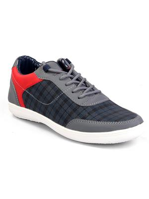 Molessi ML16C615S Grey Smart Casual Shoes