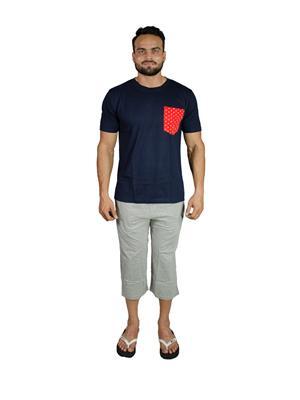 Valentine Mn325 Multicolored Men Nightwear