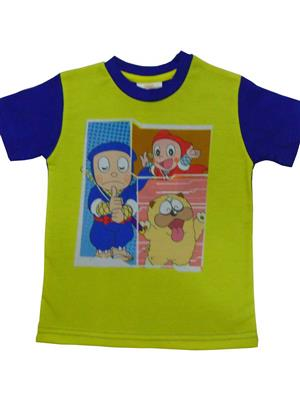 MOTU PATLU MP16  Green  Boys Tshirt