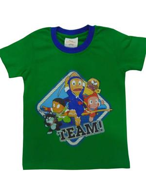 MOTU PATLU MP1 Green Boys Tshirt