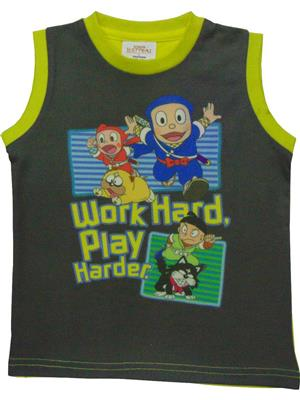 MOTU PATLU  MP20  Grey  Boys Tshirt