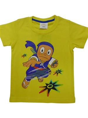 MOTU PATLU MP4  Yellow  Boys Tshirt