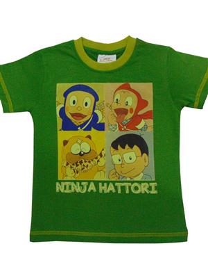 MOTU PATLU MP8  Green  Boys Tshirt