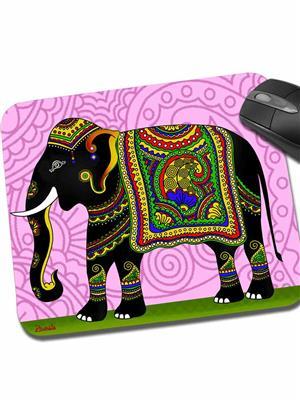 Kolorobia MPE06 Embellished Elephant Mouse Pad