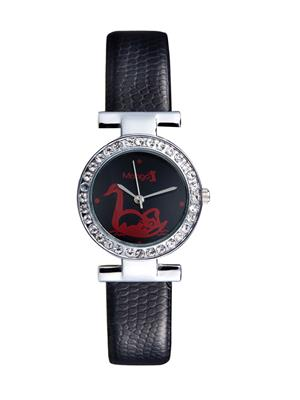 Mango People Mp 002-Br01 Black Women Watch