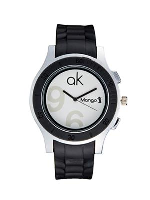 Mango People Mp 041 White Women Watch