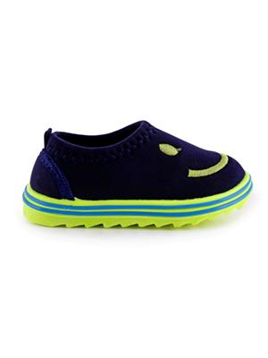 MYSHOEBOXX MSB-KD005 Green-Blue Boys Casual Shoes