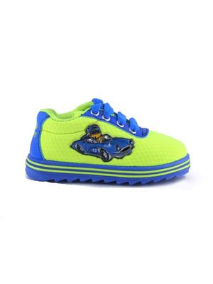MYSHOEBOXX MSB-KD006 Blue-Green Boys Casual Shoes