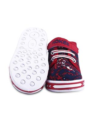 MYSHOEBOXX MSB-KD009 Red Boys Casual Shoes