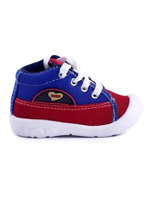 MYSHOEBOXX MSB-KD014 Blue-Red Boys Casual Shoes