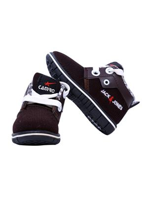 MYSHOEBOXX MSB-KD501 Brown Boys Casual Shoes