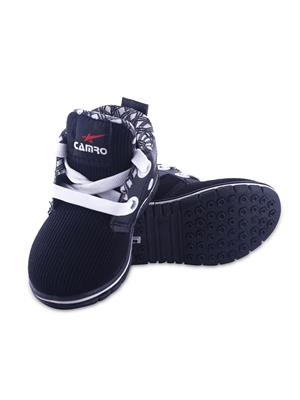 MYSHOEBOXX MSB-KD502 Black Boys Casual Shoes