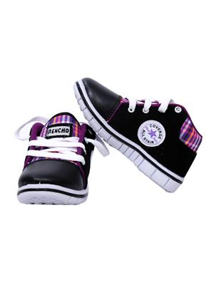 MYSHOEBOXX MSB-KD504 Purple Boys Casual Shoes