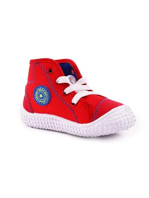 MYSHOEBOXX MSB-KD505 Red Boys Casual Shoes