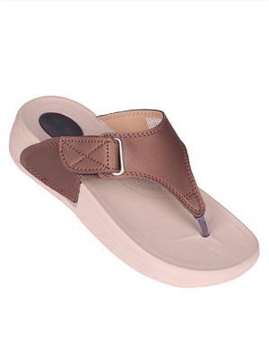 Myshoeboxx Msb-Ld001 Copper Women Flip Flops