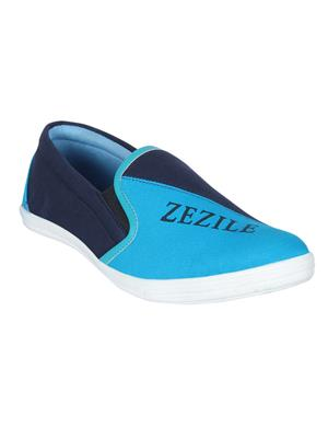Zezile Msh0037 Navy Men Loafers