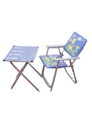 Sv Enterprises Mstc002 Blue Kids Table With Chair