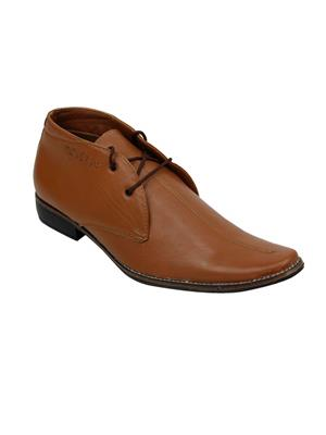 M-Toes MT1027 Tan Men Formal Shoes