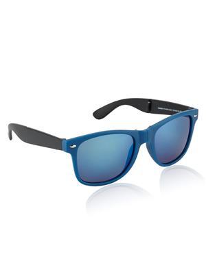 Rafa MTBLKBLUEMERC-RUNNER Black Unisex Wayfarer Sunglasses