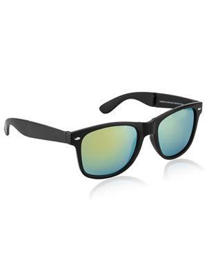 Rafa MTBLKYELOMERC-RUNNER Black Unisex Wayfarer Sunglasses