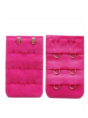 Muquam Muq-Be-N-2-C-Pi-02 Pink Women Bra Strap Extender Set Of 2