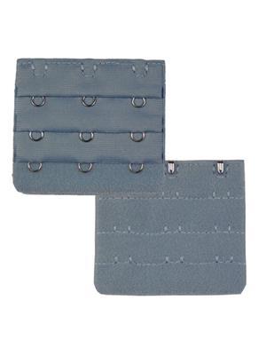 Muquam Muq-Be-N-3-C-Gy-02 Grey Women Bra Strap Extender Set Of 2