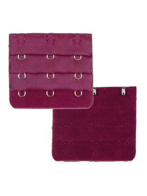 Muquam Muq-Be-N-3-C-Pp-02 Purple Women Bra Strap Extender Set Of 2