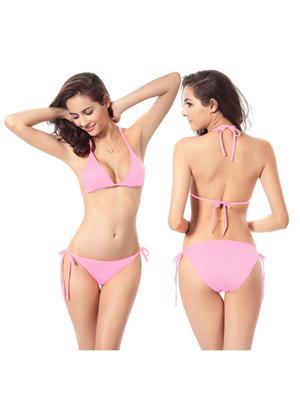 Muquam Muq-Bkn-Dhg-Lpi-Dda3312 Pink Women Bikini