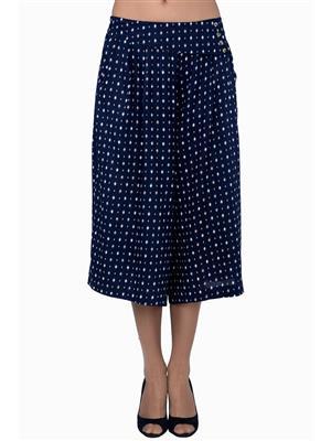 MIWAY MW61 Blue Women Capris
