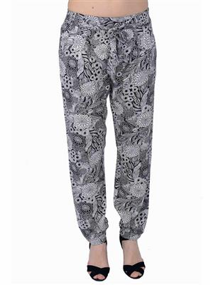 MIWAY MW72 White Women Trousers