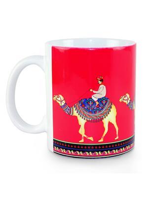 Kolorobia MWC12 Camel Walk with Pink Hues Coffee Mug