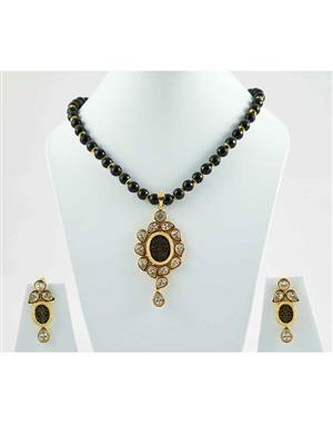 Mayine MYNS50B Black Women Jewellery Sets