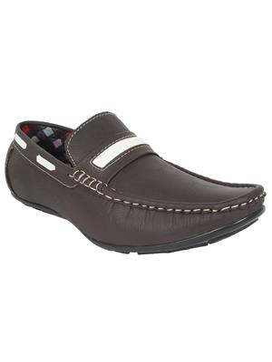 Mansway 202 Brown Men Loafers