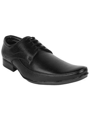 Mansway 2501 Fr Black Men Formal Shoes