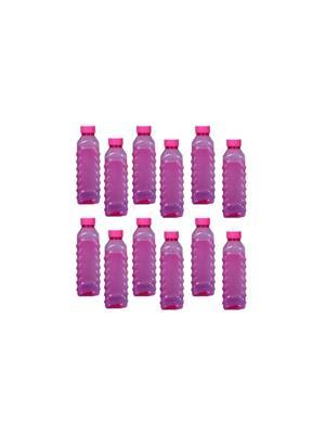 Intra Plasto Maxi Multicolor 1000ml Plastic Bottle set of 12
