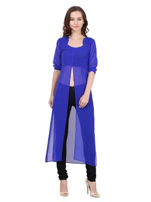 Fashion Meee Me 23 Blue Women Dresses