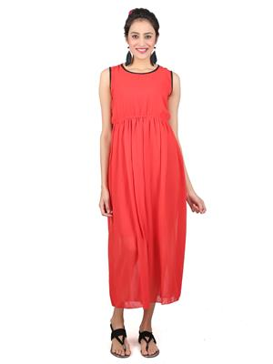 SHIVABHIS Mredsldppng01 Red Women Dresses