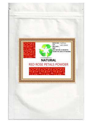 Natural Natayur007   Red Rose Petals  Powder
