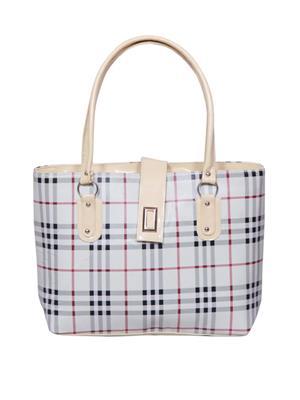 NotBad NB-125 White Women Sling Bag